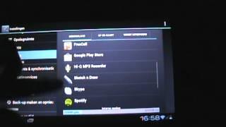 Android tablet 4.0 Cortex A8 processor 1.2 GHz van de Kruidvat   ---- ** Review Nederlands **
