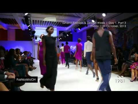 Ghana Fashion & Design Week 2013 | Day 1 Part 3 | Runway _ #fghTV