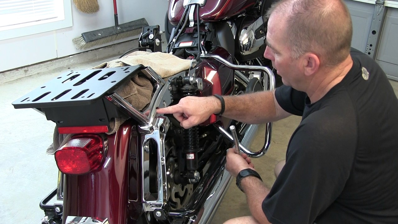 Install Hd Detachable Tour Pak Conversion Kit Youtube 2014 Harley Davidson Trailer Wiring Harness