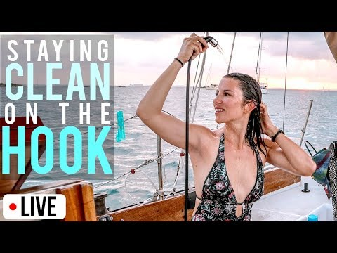 Staying Clean While Living On a Sailboat | Atticus Live