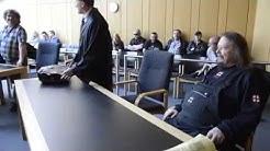 Die Ludolfs vor dem Landgericht in Münster