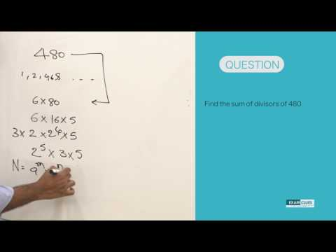 22 Feb: Best Aptitude Shortcuts and Tricks - Numerical Ability - Sum of factors: CAT & UPSC exams
