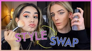 ON ÉCHANGE NOS STYLES w/ Lucas Dorable || Léna Situations