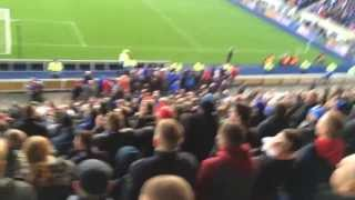 Falkirk 0-2 rangers templeton goal and atmosphere