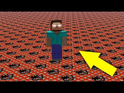 HEROBRINE VS 100000 TNT | Minecraft Animation (Herobrine is real)