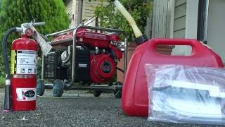 Disaster Zone - Hooking Up a Generator Safely