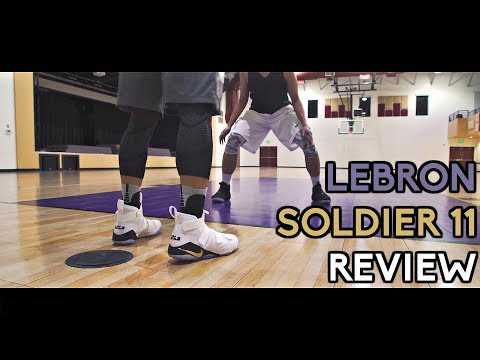 the latest 5e3a5 1d30c Nike LeBron Soldier XI (11) Performance Review!