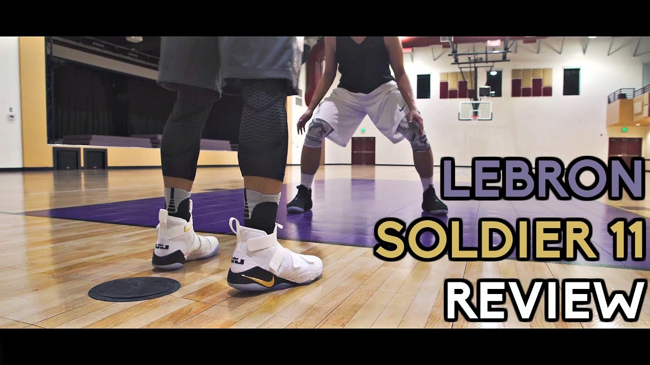 a6066f3844bf4 Nike LeBron Soldier XI (11) Performance Review! - YouTube