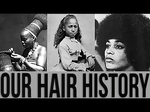 Black Woman's History Of Hair
