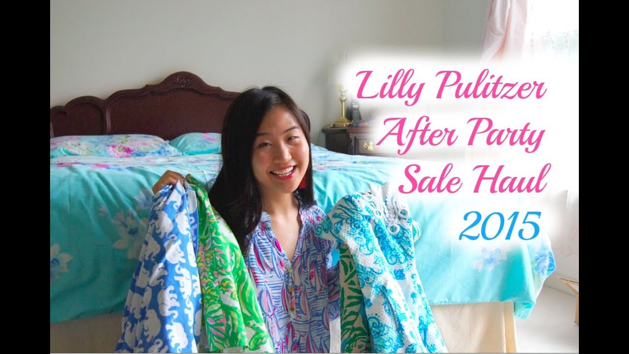 c8d254d96769ce Lilly Pulitzer After Party Sale Haul & Review - Summer 2015 - YouTube