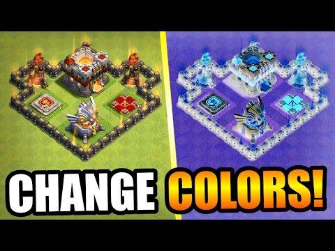 Clash Of Clans - CHANGE COLORS!