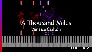 A Thousand Miles - Vanessa Carlton (Piano Tutorial)