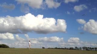 My First Dlg Flights (discus Launch Glider)