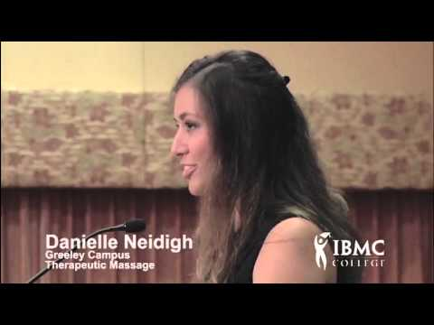 Danielle Neidigh | Therapeutic Massage Program Student at IBMC College in Greeley, CO | ABK Speech