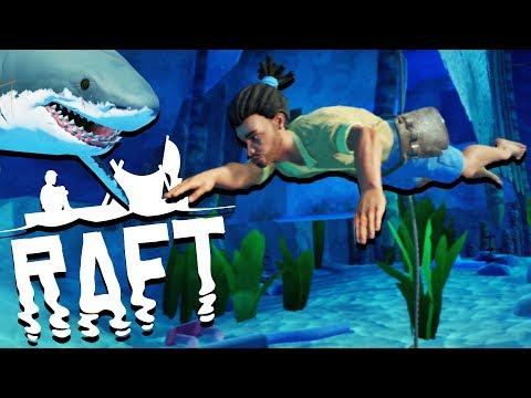 Scuba Diving Adventure! - SHARK ATTACKS And Raft Building - Raft Gameplay