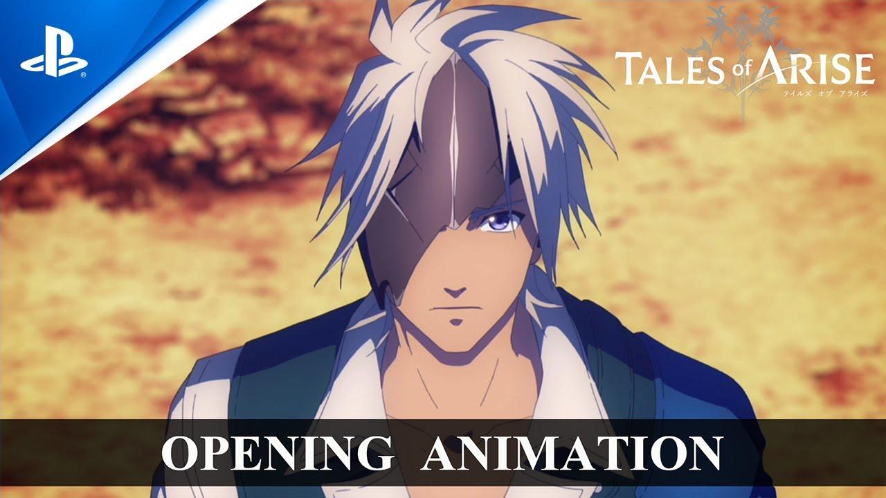 「Tales of ARISE」オープニングアニメーション