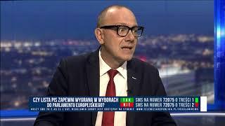 GRZEGORZ JANKOWSKI (POLSAT NEWS),  JACEK POCHŁOPIEŃ (WPROST) - WYBORY DO PARLAMENTU EUROPEJSKIEGO
