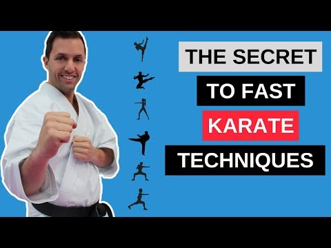 Karate Class: QUICK TIP – How To Create Fast Karate Techniques