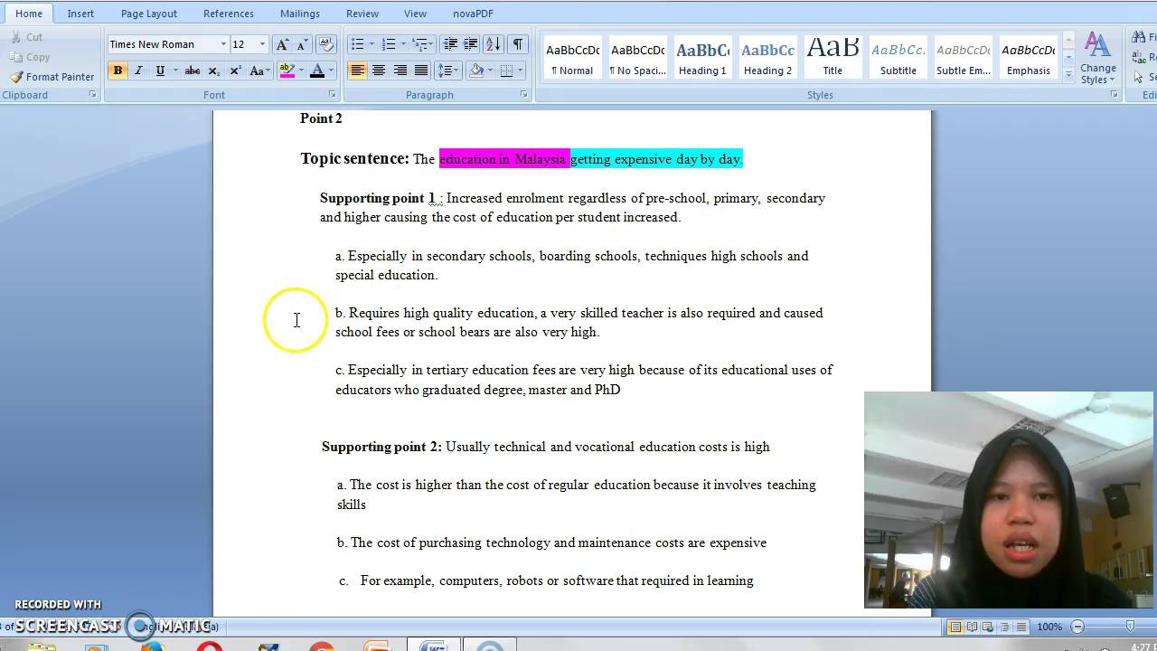 sources for research paper template mla