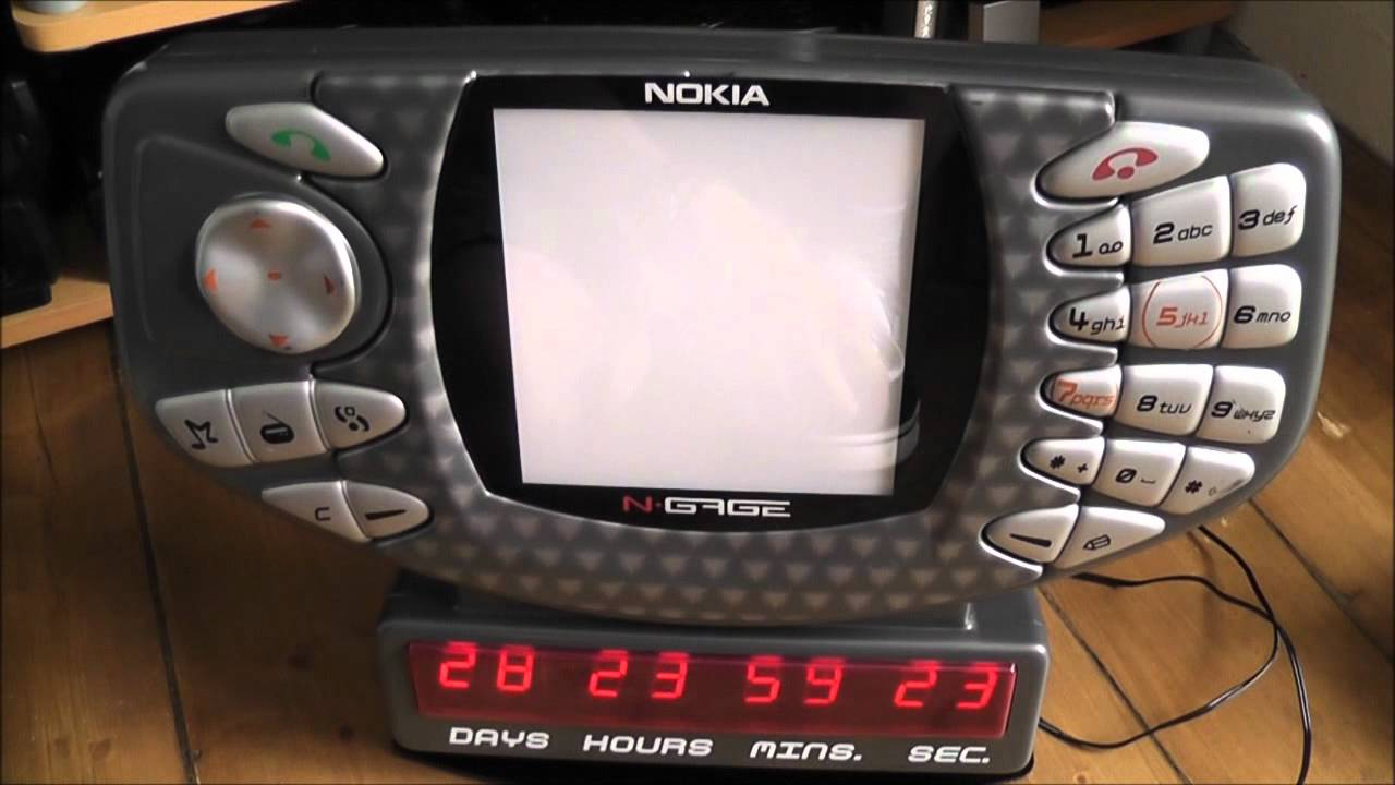 Обзор Nokia N-Gage QD (Распаковка и сравнение с Nokia N-gage .