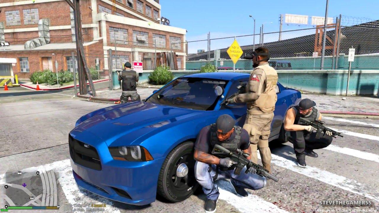 GTA 5 LSPDFR EP #38 - DEA DRUG BUST(GTA 5 PC POLICE MODS
