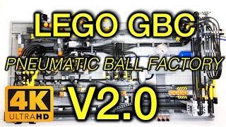 "2018! The LEGO GBC ""Pneumatic Ball Factory V2.0"" MOC by Quanix 2018"