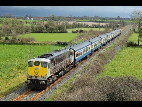 RPSI 'The Branchline Explorer' diesel tour - Onboard & Lineside, 7th April 2018