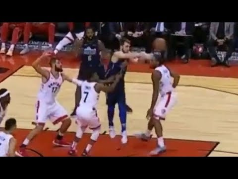 Elite Playmaking! Luka Doncic MIXES Raptors Defense with Give-and-Go Passes