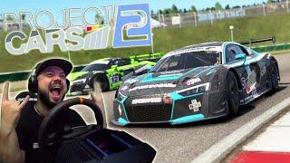 Вторая жизнь Project Cars 2 - как я бомбил BRNO на Audi R8 в онлайне!