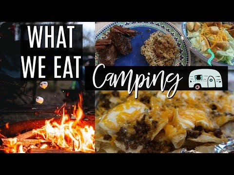 EASY CAMPING MEAL IDEAS | WHAT TO COOK WHILE CAMPING | Cook Clean And Repeat