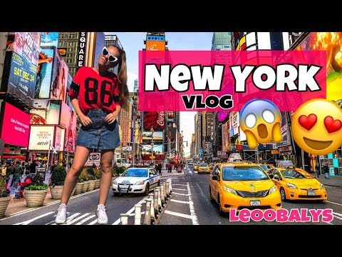 NEW YORK VLOG😍😱😩| LEOOBALYS