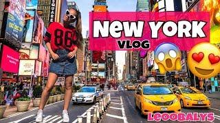 NEW YORK VLOG😍😱😩| LEOOBALYS