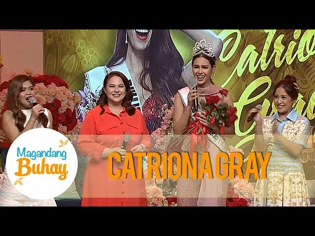 Magandang Buhay: Miss Universe 2018 Catriona Gray's grand welcome on Magandang Buhay