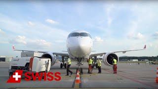 SWISS welcomes Bombardier C Series CS100 | SWISS
