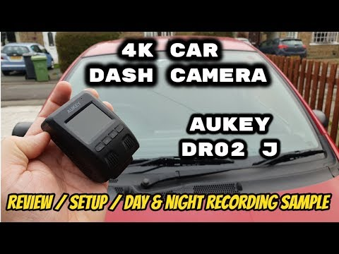 AUKEY 4K Dash Camera DR02 J Review & Sample Footage 2019