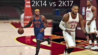 NBA 2K17 vs NBA 2K14 - 2K FANS Is 2K14 Better Than 2K17