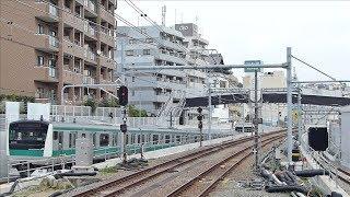 2019年8月19日(月)から埼京線が西谷駅にやってきた