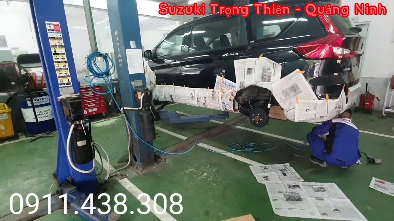 Hướng dẫn cách chống gỉ gầm, ăn mòn cho xe ô tô ??? – Suzuki Trọng Thiện Quảng Ninh