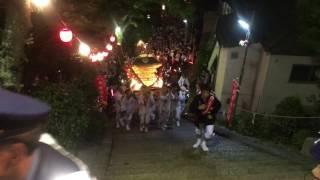 大県祭り 2017/7/31 鐸比古鐸比賣神社 神輿 階段上げ