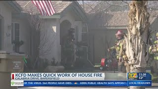 KCFD Puts Out Fire At NW Bakersfield Home