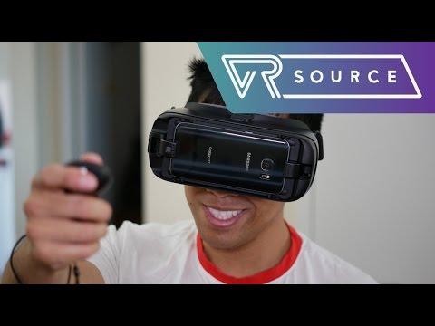 מעולה Samsung Gear VR 2017 Review - YouTube IU-54
