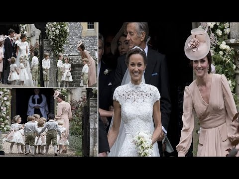 Pippa Middleton wedding : the look, smile say Kate fairytale wedding, everything about sisters, too