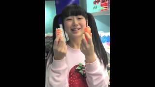 とてもかわいい山田なみさんを紹介させていただきます。 むすびズムの桃...