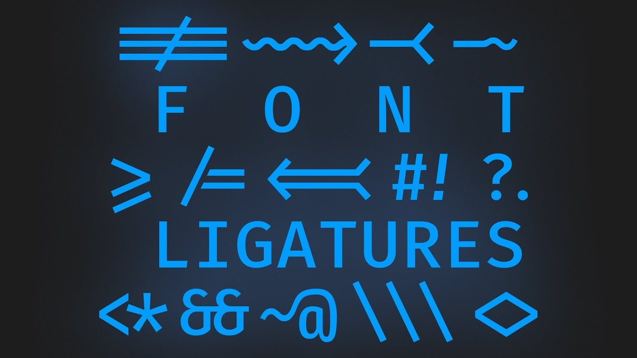 Setting Up Font Ligatures in Visual Studio Code in 5 Minutes