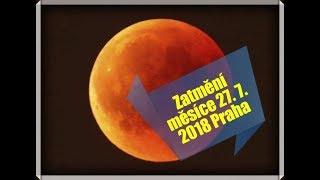 Zatmění Měsíce 27. 7. 2018 Horních Počernice Praha - Moon Eclipse 2018 Prague 20
