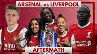 Arsenal vs Liverpool | Aftermath Ft. Pippa, Helen & Charlene