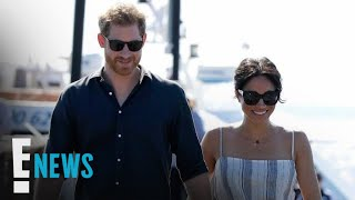 Meghan Markle Sports Minor Injury as She Cradles Her Baby Bump | E! News