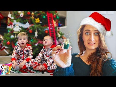 CHRISTMAS TREE FAIL! 🎄 (What Happened?!)
