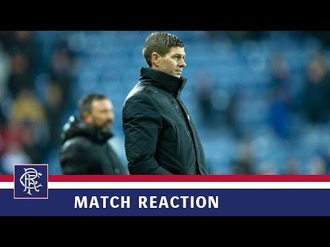 REACTION | Steven Gerrard | Rangers 0-2 Aberdeen