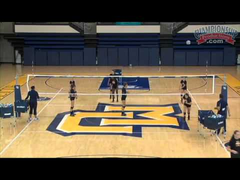 Work on Your Players' Aim to Hit the Open Spots on the Court!